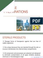 8 - Sterile Preparations