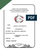 Caracteristicas Tecnicas de Los Equipos Topograficos - Yanfranco Ccalluche