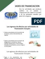 Actividades de Financiacion