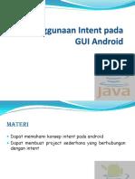 T12-Penggunaan Intent Pada Android