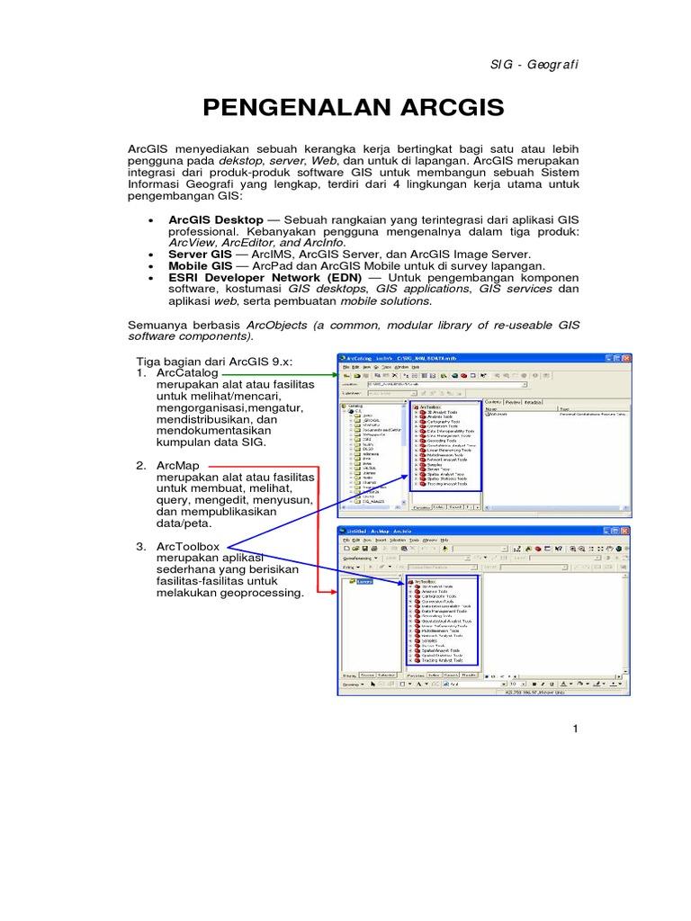 02_PENGENALAN ARCGIS1 pdf