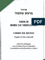 Sidur Bircat Shelomo Libro de Rezos