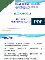 Unidad 1a Ucv Hidrol 2017 1