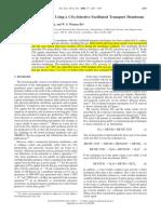 600 BarerCarbon Dioxide Capture Using a CO -Sub-2-_sub- 6 -Selective Facilitated Transport Membrane