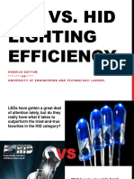 LED vs HID bulbs