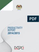 Productivity Report 2015