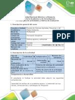 Guía de Actividades y Rúbrica de Evaluación Tarea 4 Análisis Comprensivo de Artículos