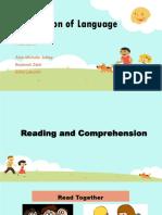 Application of Language Activities