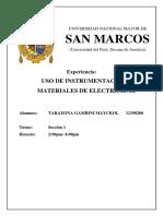 Informe Uso de Instrumentacion