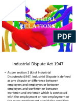 Industrial Dispute Act 1947