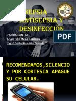 Asepsia Antisepsia y Desinfección
