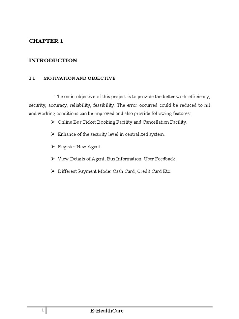 Bus Reservation System Final Report Internet Information Services Feasibility Study