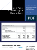 Towards a Value-Aded Philippine Dairy Industry