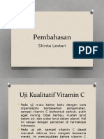 Pembahasan Vitamin c