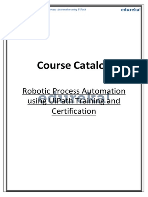 uipath catolog | Automation | Business Process