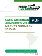 Armoured Vehicles Latam 2016