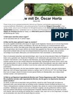 Interview mit Óscar Horta DEUTSCH