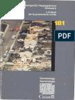 Lexique de la protection civile / Emergency preparedness glossary