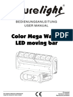 Manual de Utilizare Futurelight Moving-head