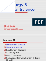 Diffusion in Crystal and Theory of Alloy