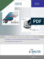 Walter Helitronic Tool Studio V1.9 Booklet