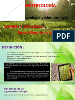 Agrometeorologìa de LA CRUZ BETSY