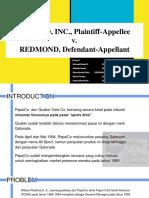 PEPSICO, InC., Plaintiff-Appellee v. REDMOND, Defendant-Appellant (1)
