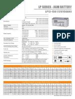 Bateria Eltrik Lp12-150