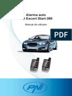 Manual Alarma Pni Escort Start 360