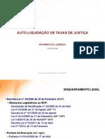 1ª Sessão - Informática Jurídica - Auto-Liquidação de Taxas de Justiça (1)