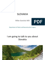 I Am Going to Talk to You About Slovakia