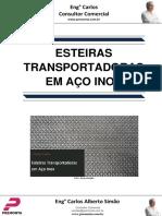 Esteiras Transportadoras Em Aço Inox