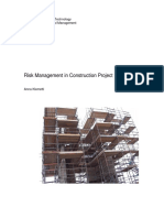 Risk Management in Construction Project Networks كتاب