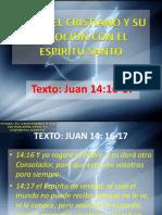 El Crsitano y Su Devocion Con El Espiritu Santo
