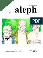 Aleph  No. 183. Octubre-diciembre 2017