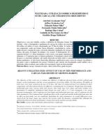 Farelada x Peletizada Utilização Sobre o Desempenho e Parâmetros de Carcaça de Coelhos Em Crescimento