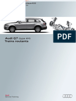 SSP 633 Audi Q7 (Type 4M) Trains Roulants