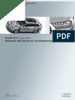 SSP 634 Audi Q7 (type 4M) Réseau de bord et multiplexage