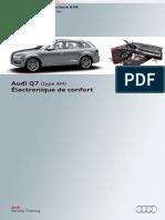 SSP 638 Audi Q7 (Type 4M) ÉLectronique de Confort