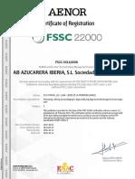 FSSC 22000 GUADALETE - 14.10.2019