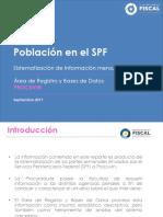 PROCUVIN Reporte de Información Población Penal Septiembre 2017