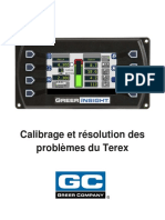 W450311D FR Insight Terex Calibration Troubleshooting French