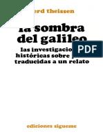 Theissen Gerd - La Sombra Del Galileo (Ediciones Sigueme - Salamanca 1995)