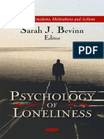 (Psychology of Emotions Motivations and Actions Series.) Bevinn, Sarah J.-psychology of Loneliness-Nova Science Publishers (2011)