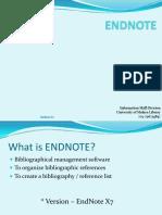 Endnote Postgraduate 2015
