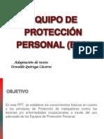USO de EPP- Protección Vías Respiratorias y Oído