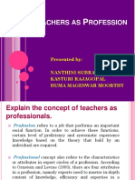 1. Teachers as Profession