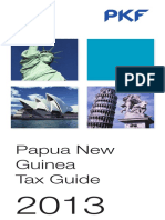 Papua New Guinea Pkf Tax Guide 2013