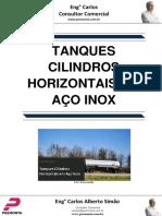 Tanques Cilindros Horizontais Em Aço Inox