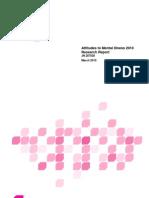 Attitudes to Mental Illness 2010 research report